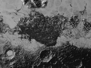 Pluto hexagons