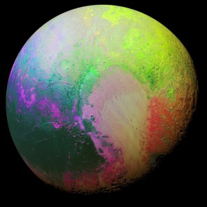 Pluto colored