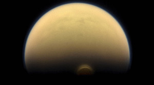 Titan and ice cloud