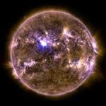 solar flare by NASA's Solar Observatory