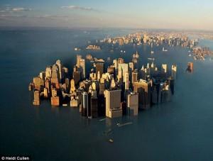 NY underwater