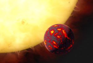 hot super earth