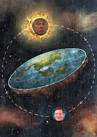 Trump smith B flat earth