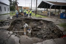 New Orleans sinkhole