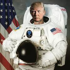 Trump space suit